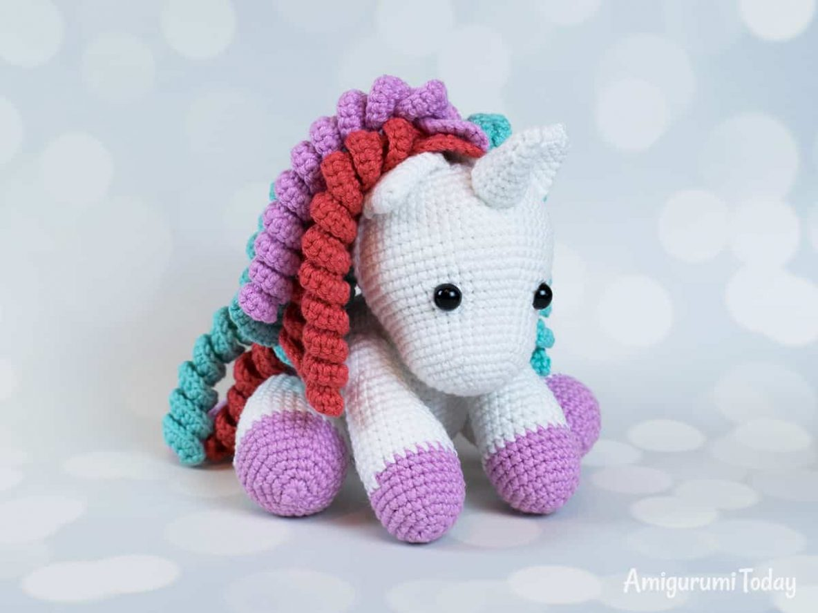 crochet baby unicorn free pattern