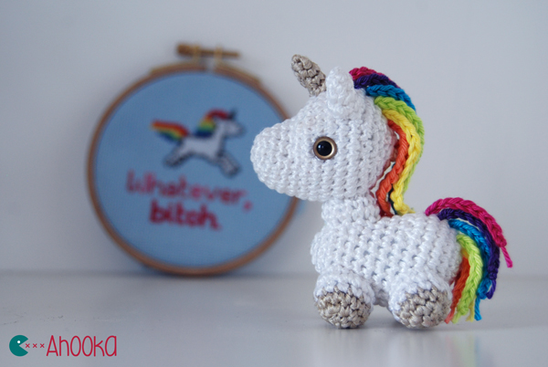 Unicorn Keychain Amigurumi Crochet Unicorn | Crochet unicorn ... | 402x600