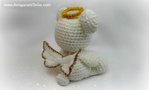 Angel Bear amigurumi pattern