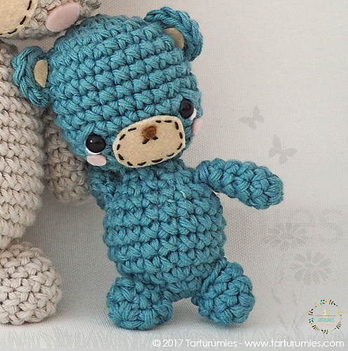 family of bears amigurumi pattern