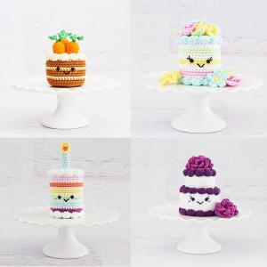 Cake Amigurumi Patterns