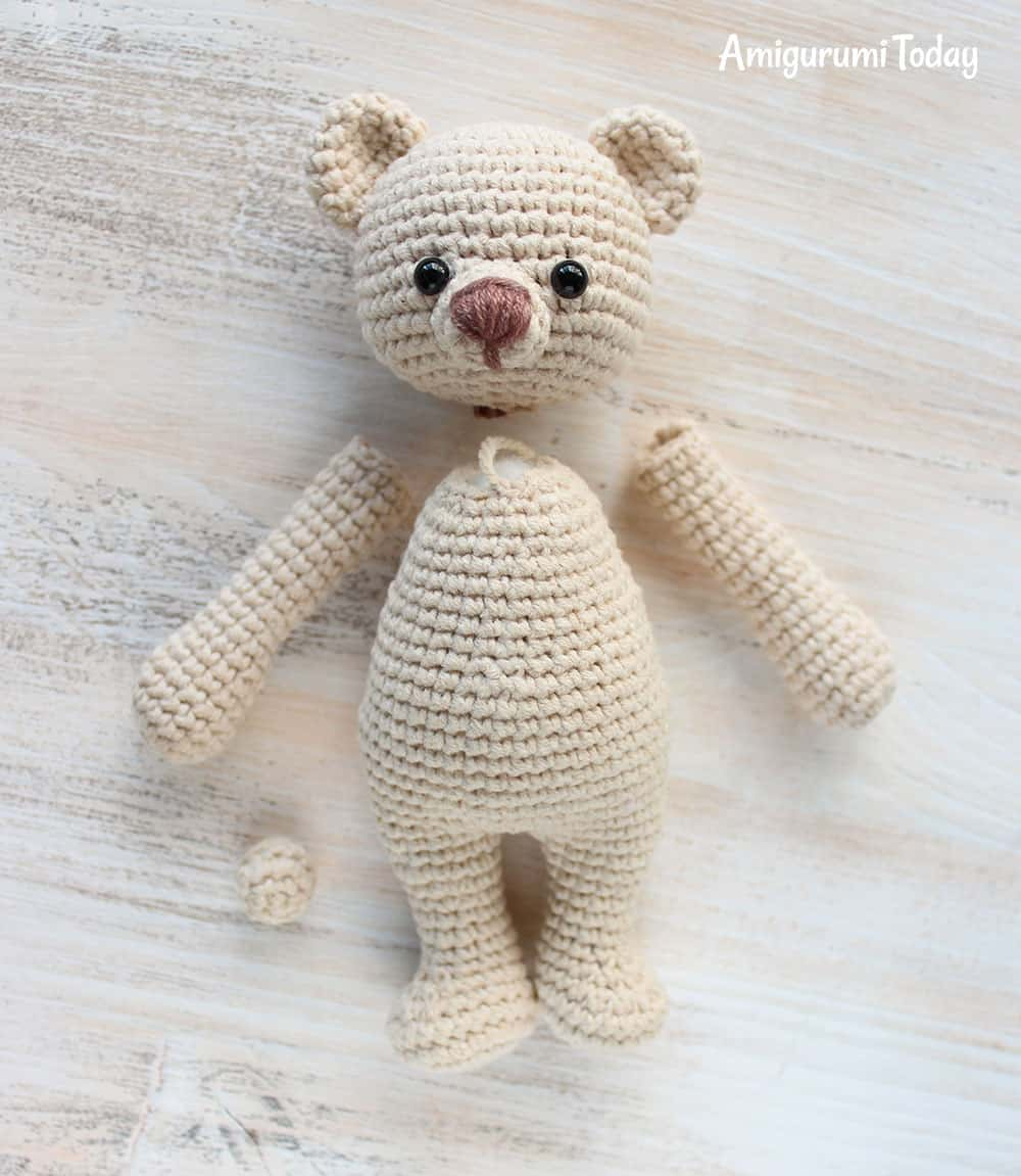 cuddle me bear amigurumi pattern
