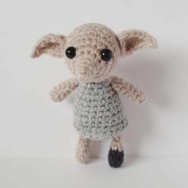 dobby pocket elf amigurumi pattern