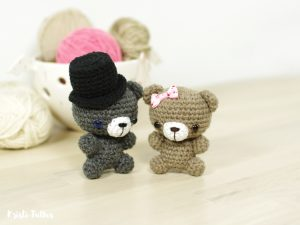 Tiny Teddy Bear amigurumi pattern
