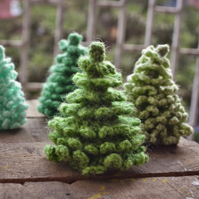 christmas tree amigurumi