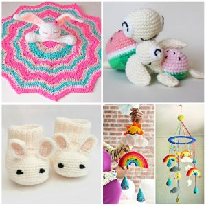 7 Free Amigurumi Patterns for Babies & Toddlers