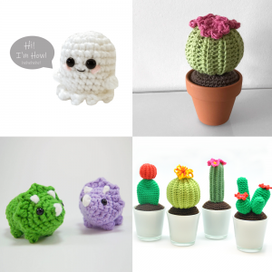 Amigurumi Patterns for Desk Toys