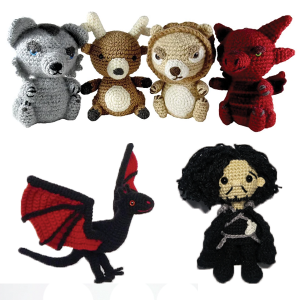 Game of Thrones Amigurumi Patterns