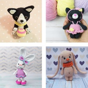 16 Free Amigurumi Pets Patterns