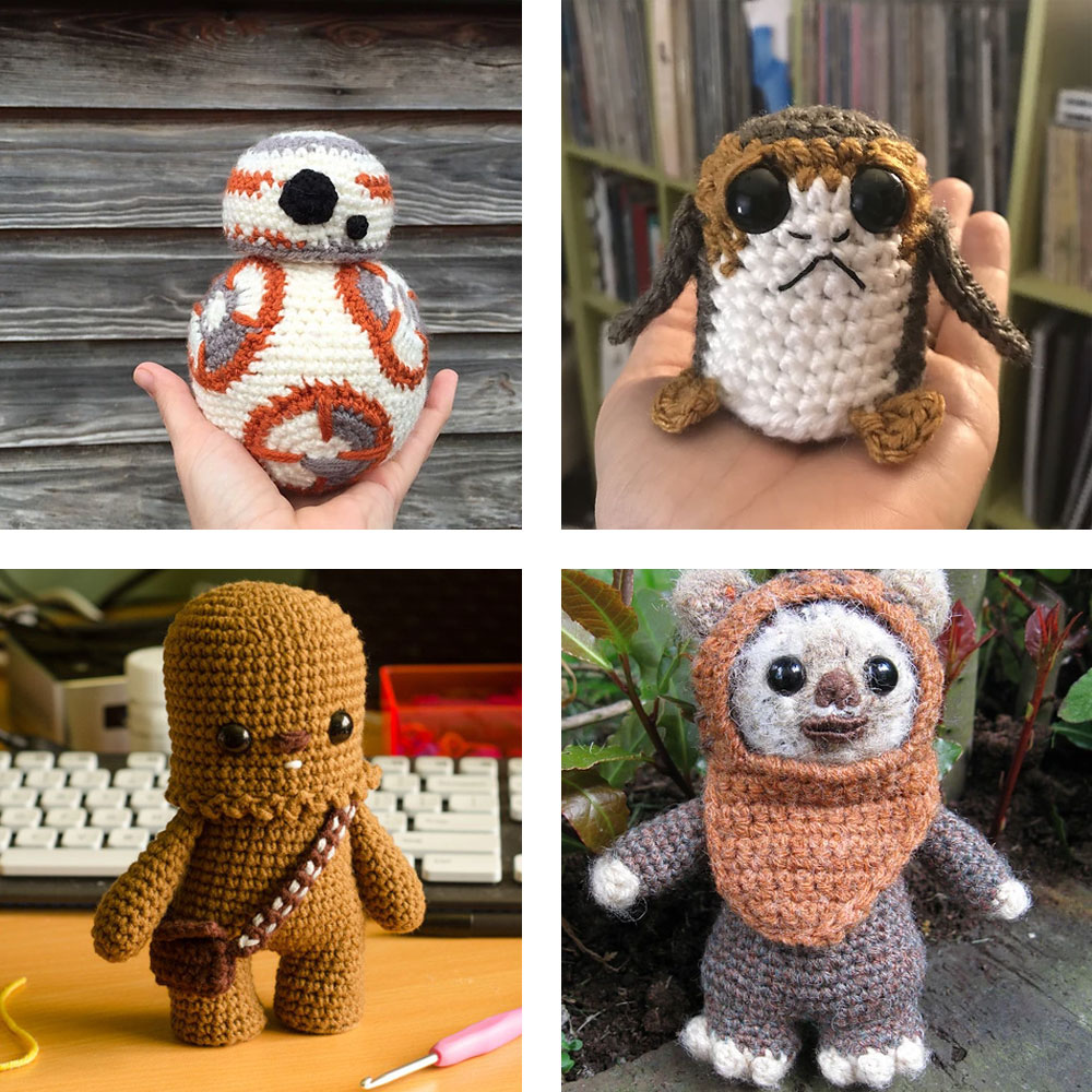 star wars amigurumi pattern
