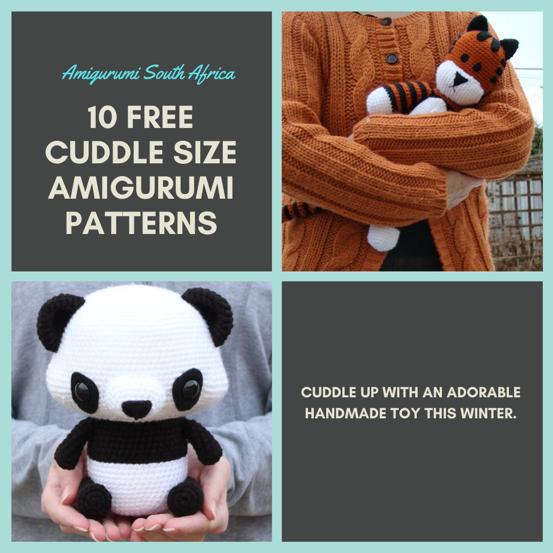 10 Free Cuddle Size Amigurumi Patterns