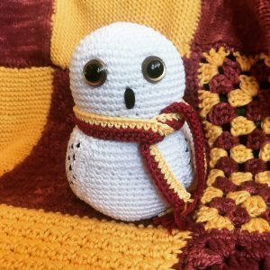 HEDWIG AMIGURUMI (Harry Potter) - YouTube | 300x300