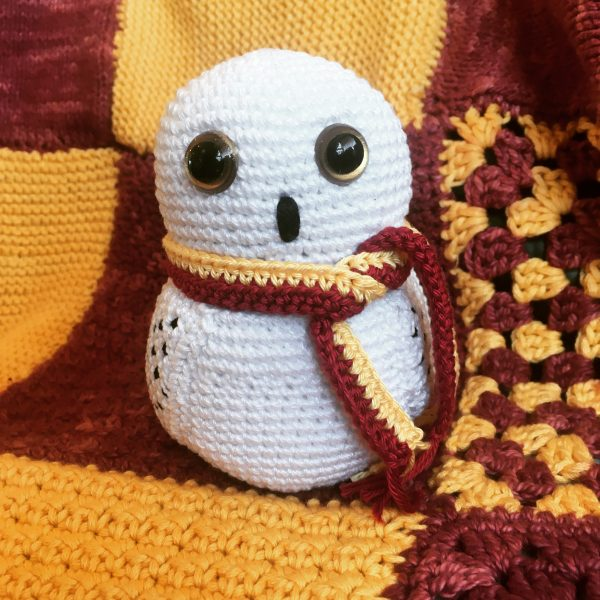 snowy owl amigurumi pattern