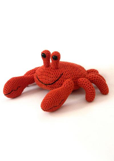 amigurumi kit crab