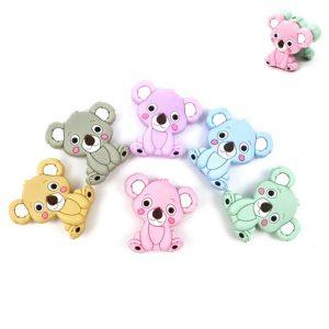 Silicone Beads | Koala Bears